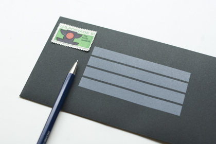 ENVELOPE for NOTEPAD 一筆箋用封筒の商品写真