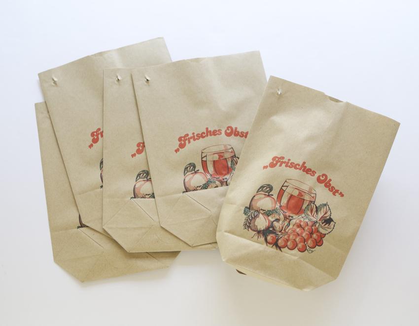 【取扱終了】ドイツ フルーツ袋/紙袋 ラッピング マルシェ袋 ...