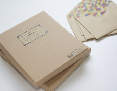 CRAFT PAPER LOVE レターセット antibes