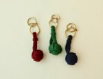 Monkey Knot Key Ring